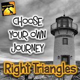 "Right Triangles and Trigonometry: ""Choose Your Own Journey"" Book"