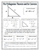 Right Triangles and Trigonometry Unit Graphic Organizers ...