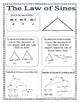 Right Triangles and Trigonometry Unit Graphic Organizers