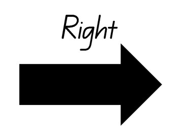Right and Left Arrows