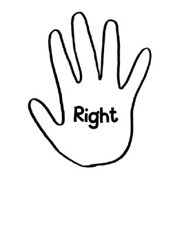 Right and Left Hand Printables