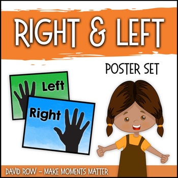 Right Hand and Left Hand Posters - Help students remember directions