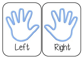 Right and left hand display