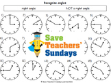 Right angles lesson plans, worksheets and more