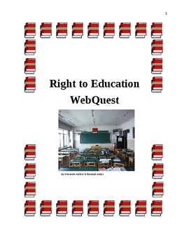 Right to Education WebQuest
