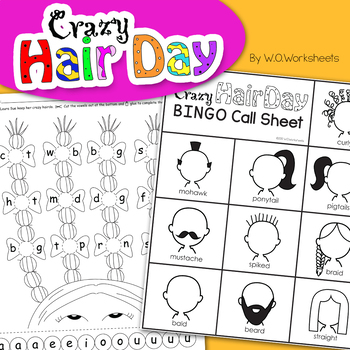 Crazy Hair Day Activites