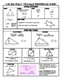 Right triangle reference sheet
