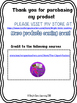 Rights & Responsibilities Printable - Bright Gems learning