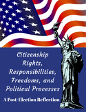 Rights Responsibilities of Citizen Political Process Post Election Reflection