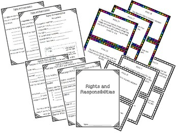 Grade 3 Alberta: Rights and Responsibilities