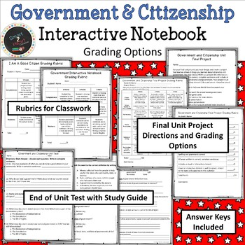 Rights and Responsibilities - Government and Citizenship INB FREE Sample