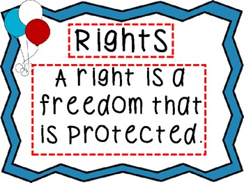 Rights and Responsibilities Power Point