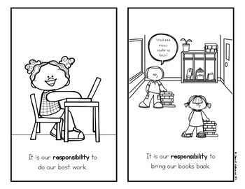 Rights and Responsibilities Reader for Kindergarten & First Grade Social Studies