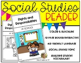 Rights and Responsibilities Reader for Kindergarten & Firs
