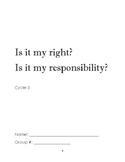 Rights and Responsibilities booket