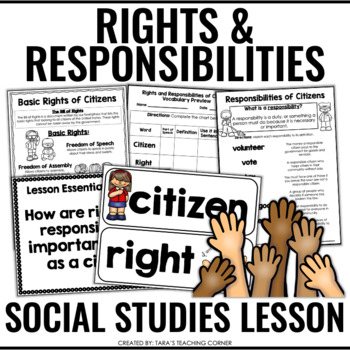 Rights and Responsibilities of Citizens- Complete Lesson (No Prep!)