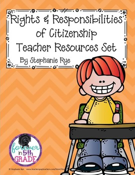 Rights and Responsibilities of Citizenship Teacher Resources Set