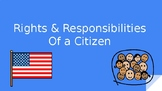 Rights and Responsibilities of a Citizen GAA Adapted Symbols