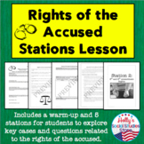 Rights of the Accused Stations Lesson