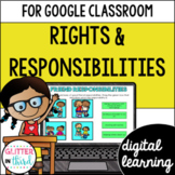 Google Classroom Distance Learning Rights and responsibilities