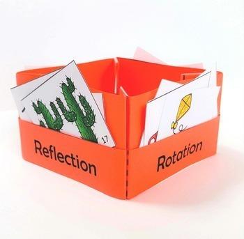Rigid Motion Transformations Card Sorting Activity Geometry