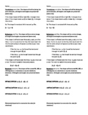 Rigid Motions Transformations Study Guide
