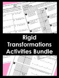 Rigid Transformations Activities Unit BUNDLE