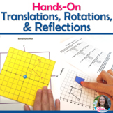 Rigid Transformations Introductory Discovery Activities BUNDLE