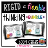 Rigid vs Flexible Thinking Boom Digital Task Cards BUNDLE | Distance Learning