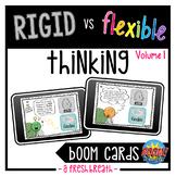 Rigid vs Flexible Thinking Boom Digital Task Cards Volume