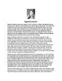 Rigoberta Menchu Biography Article and Assignment Worksheet