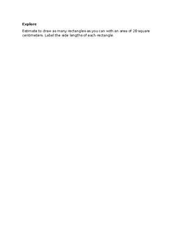 Rigorous Area & Perimeter Review