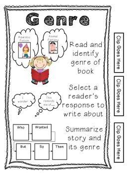 Rigorous Centers & Center Rubrics {1st Grade}