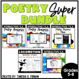 Rigorous Common Core Aligned Poetry Bundle