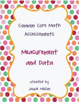 Rigorous Common Core Math Assessments: Measurement and Data: 1st Grade
