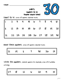 Rigorous Common Core Math Assessments: Number & Operations in Base 10: 1st Grade