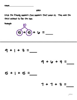 Rigorous Common Core Math Assessments: Operations & Algebraic Thinking: Grade 1