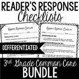 3rd Grade Reader's Response Letters {Bundle: All Standards}