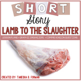 """Rigorous Short Story Lesson Plan """"Lamb to the Slaughter"""" by Roald Dahl"""