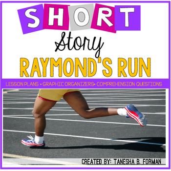"Rigorous Short Story Lesson Plan ""Raymond's Run"" by Toni Cade Bambara"