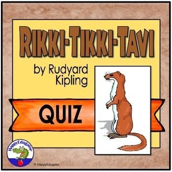 Rikki Tikki Tavi Comprehension Quiz