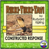 Rikki Tikki Tavi Constructed Response Writing Prompt with Rubric