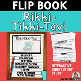 Rikki-Tikki-Tavi FLIP BOOK - Short Story Study (Standards-Based)