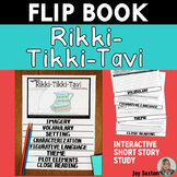 Rikki-Tikki-Tavi - FLIP BOOK - Short Story Study Common Core