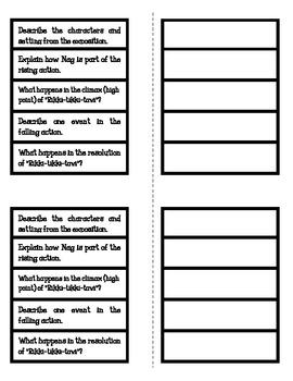 Rikki-Tikki-Tavi - Plot Foldable