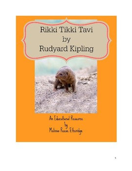 Rikki Tikki Tavi Text and Resources