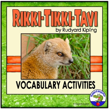 Rikki Tikki Tavi Vocabulary Activities