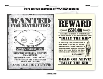 RikkiTikkiTavi WANTED Poster Final Project by Teacher Warriors