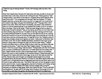 """Rikki Tikki Tavi"" by Rudyard Kipling: Annotation Organizer"