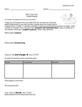 7th Grade Literature Holt Mcdougal Worksheets & Teaching